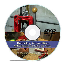 Learn How To Reload Ammunition, .45 9mm, .223 Ammo Reloading Books CD in PDF V22