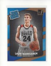 2017-18 Donruss #159 Lauri Markkanen RR RC Rookie Bulls