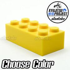 Lego 32952-4x Brique Neuf Brick Modified 1x1x1 2//3 studs Beige Tan