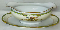 Noritake *AMOROSA* GRAVY BOAT W/ATTACHED LINER PLATE*