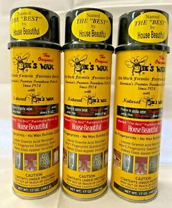 The Original Bee's Wax Old World Formula Furniture Polish - Single Can
