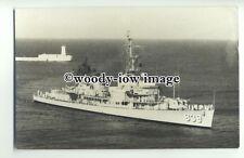 na2564 - American Navy Warship - USS Power arriving Malta - photograph