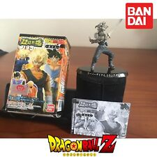 GASHAPON BANDAI DRAGONBALL Z SOUL OF HYPER FIGURATION V.9 TRUNKS SS GREY VER.
