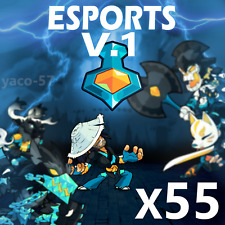 Brawlhalla x55 Esports Colors V1 Codes (All Legends Pack)