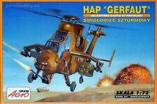 HAP Gerfaut French-German fighter helicopter, plastic model kit 1/72