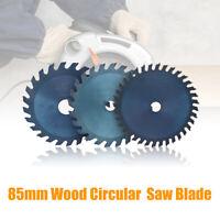 10/15/85mm Lame de scie circulaire carbure tête coupe disque pour bois Bore