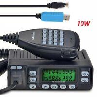 Leixen VV-898 Dual Band 10W Voice Compand and Scrambler Mobile Radio Tracnceiver