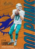 2018 Absolute Football Spectrum Blue #58 Ryan Tannehill