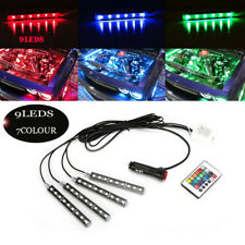 5050SMD LED Lights For Cars Interior Colorful Decorative light accessories RGB