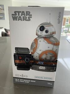 Star Wars BB-8 App Enabled Droid With Force Band By Sphero Special Edition