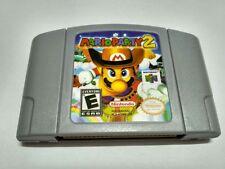 Nintendo 64 Game Mario Party 2 Video Game Cartridge Console Card English Languag
