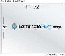 """Letter 5 Mil Matte-Matte 9"""" x 11.5"""" Laminating Pouches"""