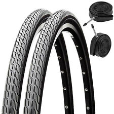 2x Raleigh CST Global Tour 700 x 32c All Season Bike Tyres & Presta Inner Tubes
