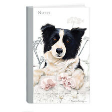 Quality Border Collie Breed of Dog Themed Hardcover Lined Notebook A5 Ideal Gift