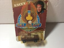 80s Ertl Fall Guy Colt GMC Pickup ON ORIGINAL BLISTER CARD! SUPER COOL!