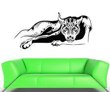 Wall Decal Art Panther Animal Roar Wildcat Vinyl Stickers (ed009)