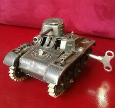 Carro armato giocattolo Gama tank vintage made in germany US zone untouched 1950