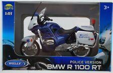 WELLY BMW R1100 RT EMERGENCY 1:18 DIE CAST MODEL LICENSED MOTORCYCLE NEW