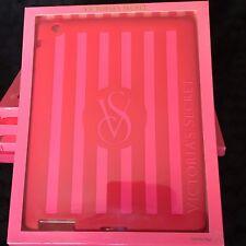 VICTORIA'S SECRET ORIGINALE cover I PAD 2 & 3 SILICONE rosso e rosa