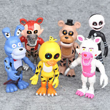 New Aarrival !! 6Pcs FNAF Five Nights at Freddy's Action Figures Toys Kids Gift