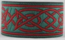 beige//braun - 33mm Keltisch II Mittelalterlich Borte