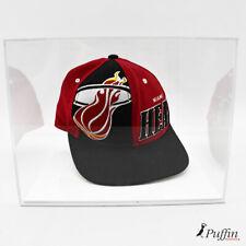 More details for baseball cap display case white