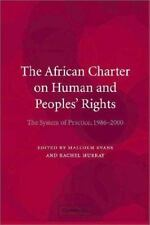 The African Charter on Human and Peoples' Rights: The System in Practi-ExLibrary
