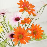 Artificial Silk Flower Bouquet Fake Daisy Bunch House Office Parties Decoration