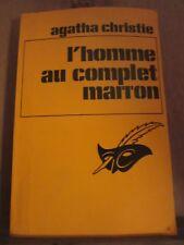 Agatha Christie: L'homme au complet marron/ Librairie des Champs-Elysées, 1982