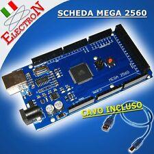 Arduino Mega 2560 MEGA2560 R3 REV3 Board+ CH340 ATMEGA2560 Scheda COMPATIBILE