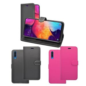Case For Samsung Galaxy A50 Wallet Flip Stand Card Holder PU Leather Cover Pouch