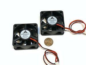 2 Pieces Cooling Fan 12v 50mm blower quiet silent gdstime 3d printer ender  A35