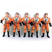 "Lot 5X Star Wars A New Hope Dutch Vander Gold Leader 3.75"" Hasbro figure gift"