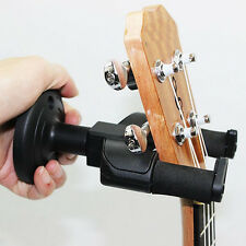 Black Electric Guitar Wall Hanger Holder Stand Hook Mount for All Size Guitar