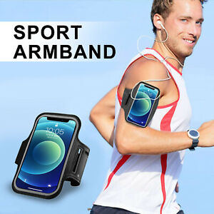 Water Resistant Sports Running Armband Phone Holder Case with Touchscreen, Slot