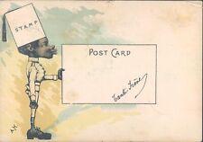 EGYPT Alexandria 1908 racist postcard - rare !