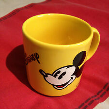 Mickey/Minnie Euro Disney Yellow Shot Mug