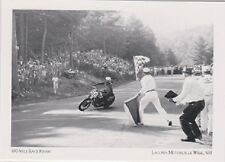 """*Postcard-""""The 100-Mile Race Finish"""" @ Laconia Motorcycle Week-NH  (#17)"""