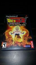 Dragon Ball Z: Budokai Tenkaichi PS2 Complete Disc Case Manual