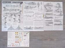 "VULCAN B2/SEA KING HAR3/SEA HARRIER FRS1 ""14 RN/RAF"" MODELDECAL 1/72"
