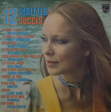 12 SUCCES 12 VEDETTES  CHEESECAKE COVER FRENCH LP