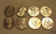 2007 & 2008  P  PRESIDENTIAL DOLLARS   1st  8 PRESIDENTS