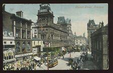 Lancs LIVERPOOL Church Street 1904 PPC Henry Miles Milliner