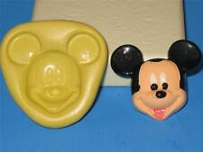 Mickey Mouse Flexible Mold Silicone 2D Food Safe A81 Fondant Sugarcraft Candy