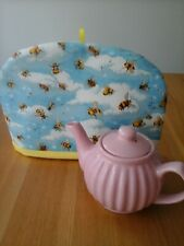 Tea cosy, two cup tea cosy, tea cosies, handmade, bee, bees