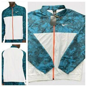 Msrp $120 Nike Men's Sz L Court Melbourne Spring Tennis Jacket CV2475-301