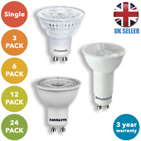 LED GU10 Energy Saving 5W Spotlight Downlight A+ Light Bulb Lamp Lightbulb