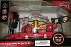 Disney Pixar Cars Podium Lightning McQueen RC with Playset 27 MHZ NEW RED