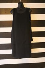 BCBG MAX AZRIA Black Polyester Cocktail Dress Sleeveless Size 12