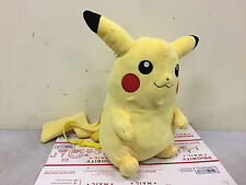 "16"" Nintendo Game Costume Bag Pokemon Pikachu Plush Doll Backpack Catch em All"
